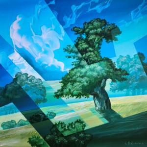 """""""Bakkens egetræer I"""""""